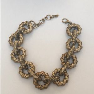 Zara Chunky Metal Chain Link Necklace